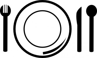 Plate lunch clipart