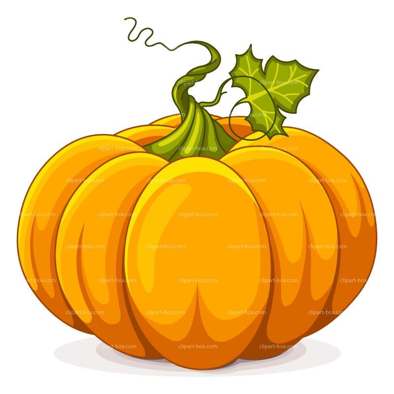 Primitive pumpkin clipart