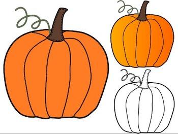 Pumpkin clip art 6