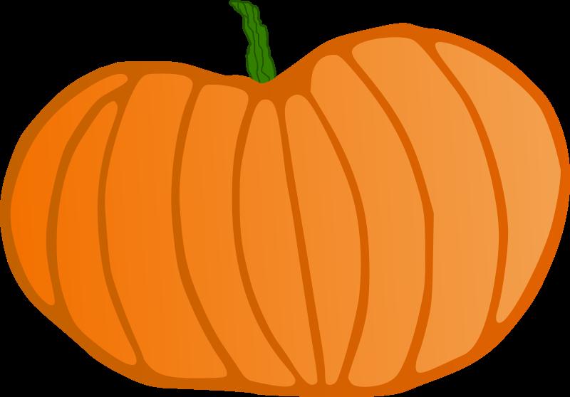 Pumpkin clip art outline free clipart images