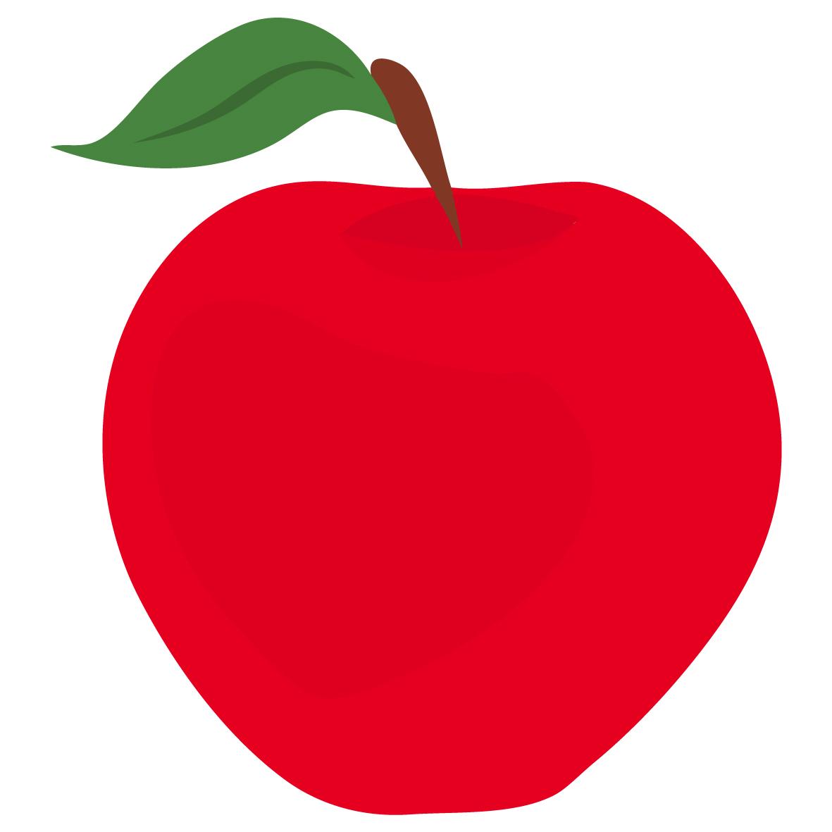 Red apple clip art tumundografico 2