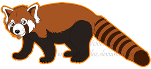 Red panda by atroxa on deviantart clip art