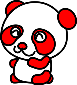Red panda clipart free images 6