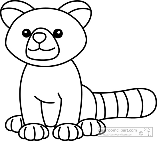 Red panda clipart free images 7