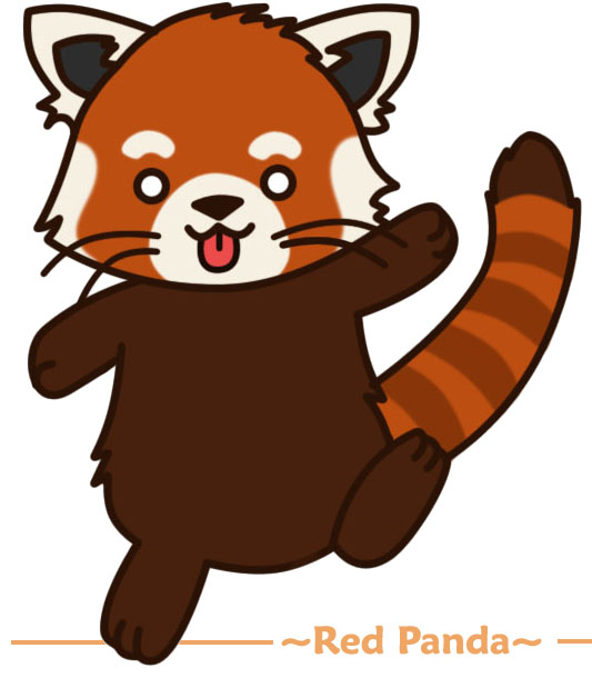 Red panda drawing free clipart images