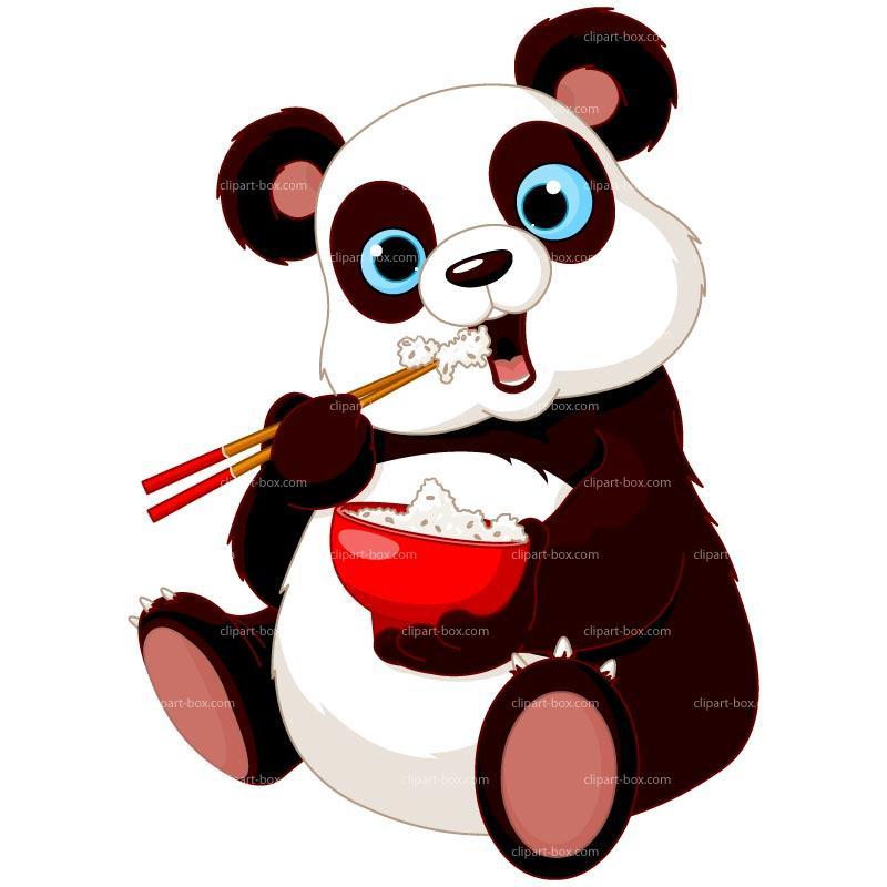 Red panda panda images clip art