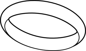 Ring clipart black and white free images