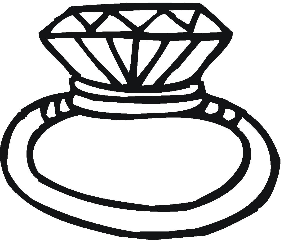 Ring clipart black and white wedding rings clip art