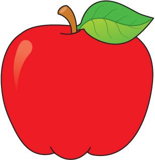 School apple clip art free clipart images