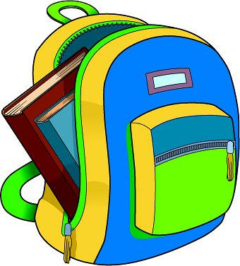 School backpack clipart free images 2