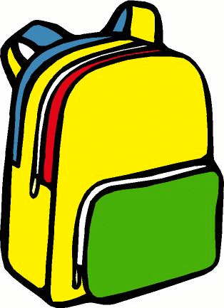 School backpack clipart free images 5