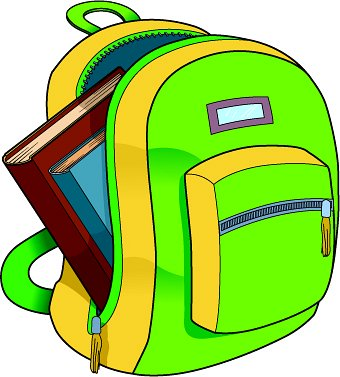 School backpack clipart free images 6