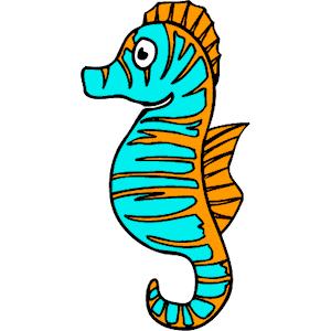 Seahorse free sea horse clip art vector for download 2