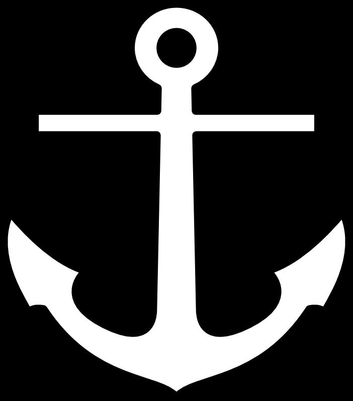 Simple anchor clipart