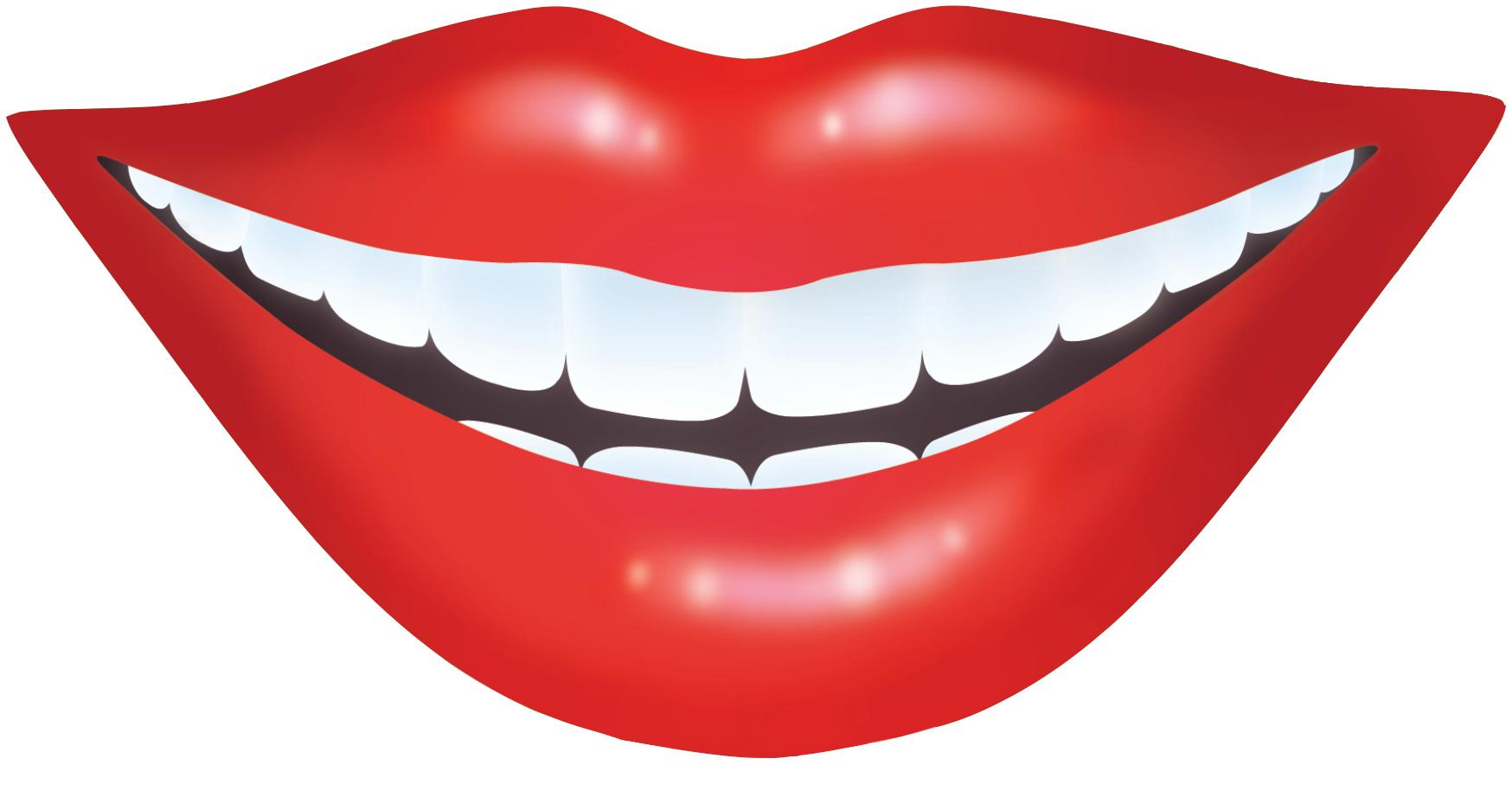 Smile teeth clip art 2