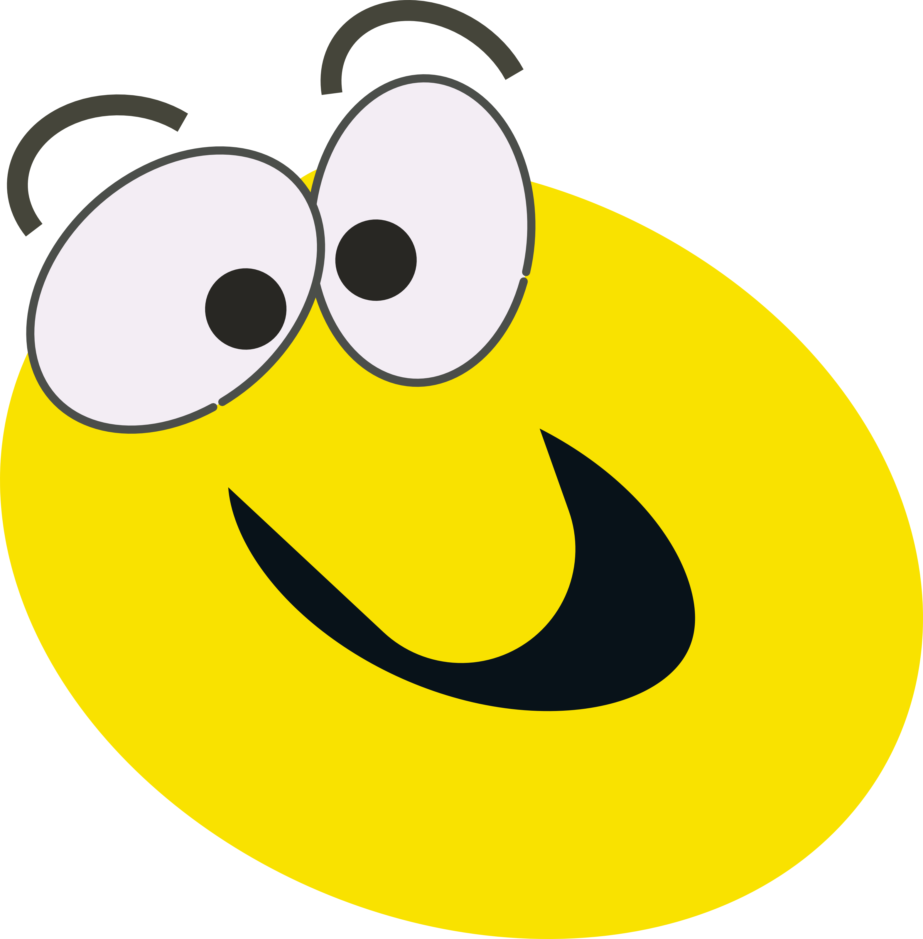 Smiley face happy face smiley happy smiling clip art at vector 4