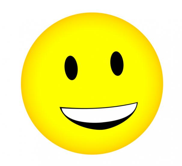 Smiley face happy face smiley happy smiling clip art at vector 6