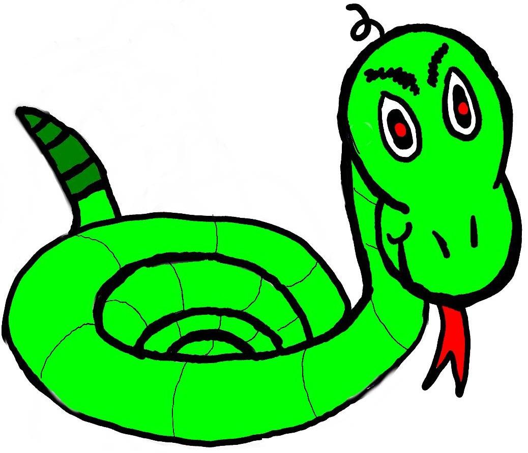 Snake clip art clipart image 4