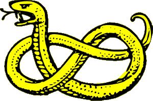 Snake clip art free vector 4vector