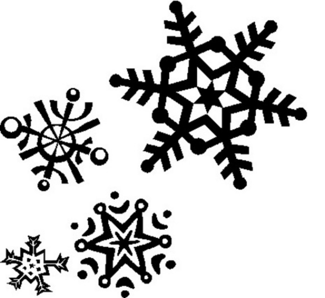 Snowflake clipart 2