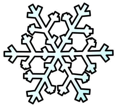 Snowflake clipart 3