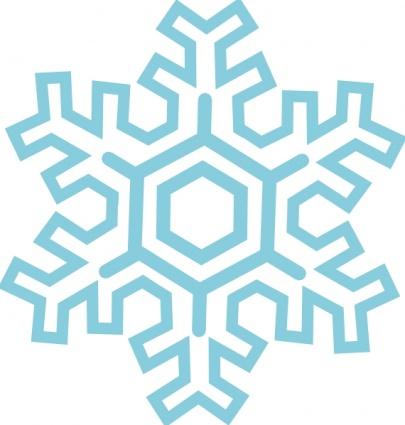 Snowflake clipart 5
