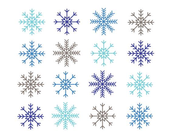 Snowflake clipart microsoft