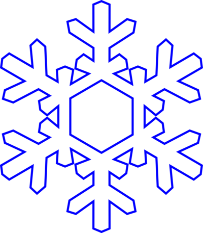 Snowflake clipart transparent background free 2