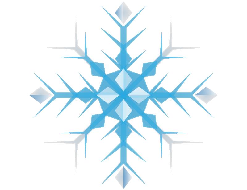 Snowflake free to use clip art 2