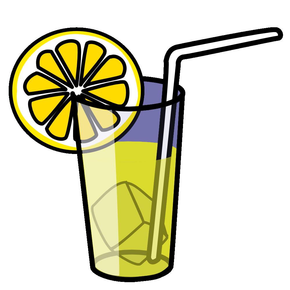 Soda iced tea clipart