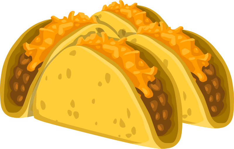 Soft tacos clipart images