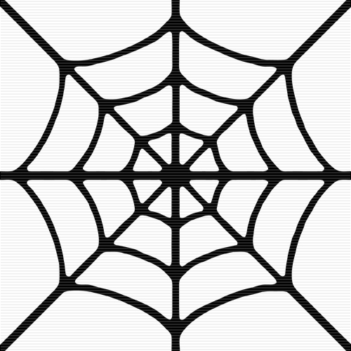 Spider web border clipart free images 2