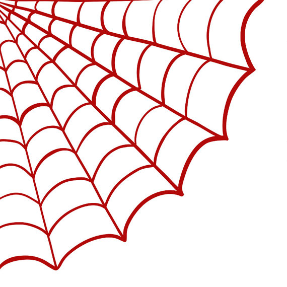 Spider web border clipart free images 7
