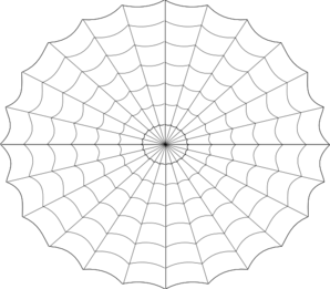 Spider web clip art at vector clip art