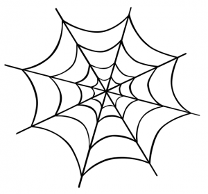 Spider web clip art download