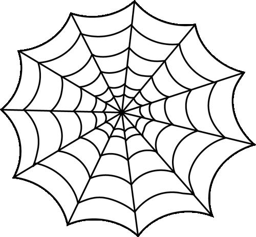 Spider web spiders clip art clipart 2