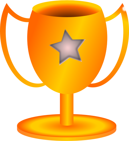 Star trophy clipart free images