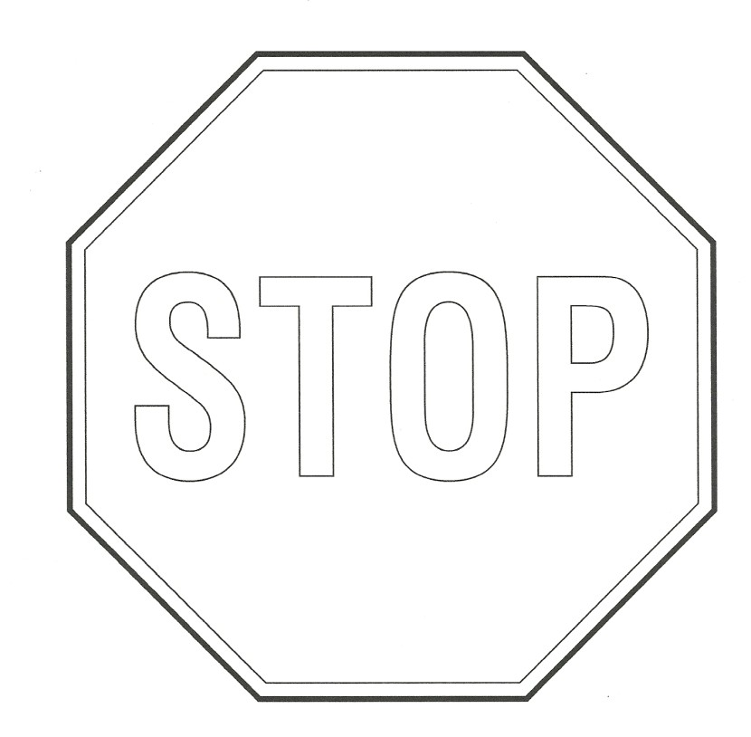 Stop sign clip art 4 2