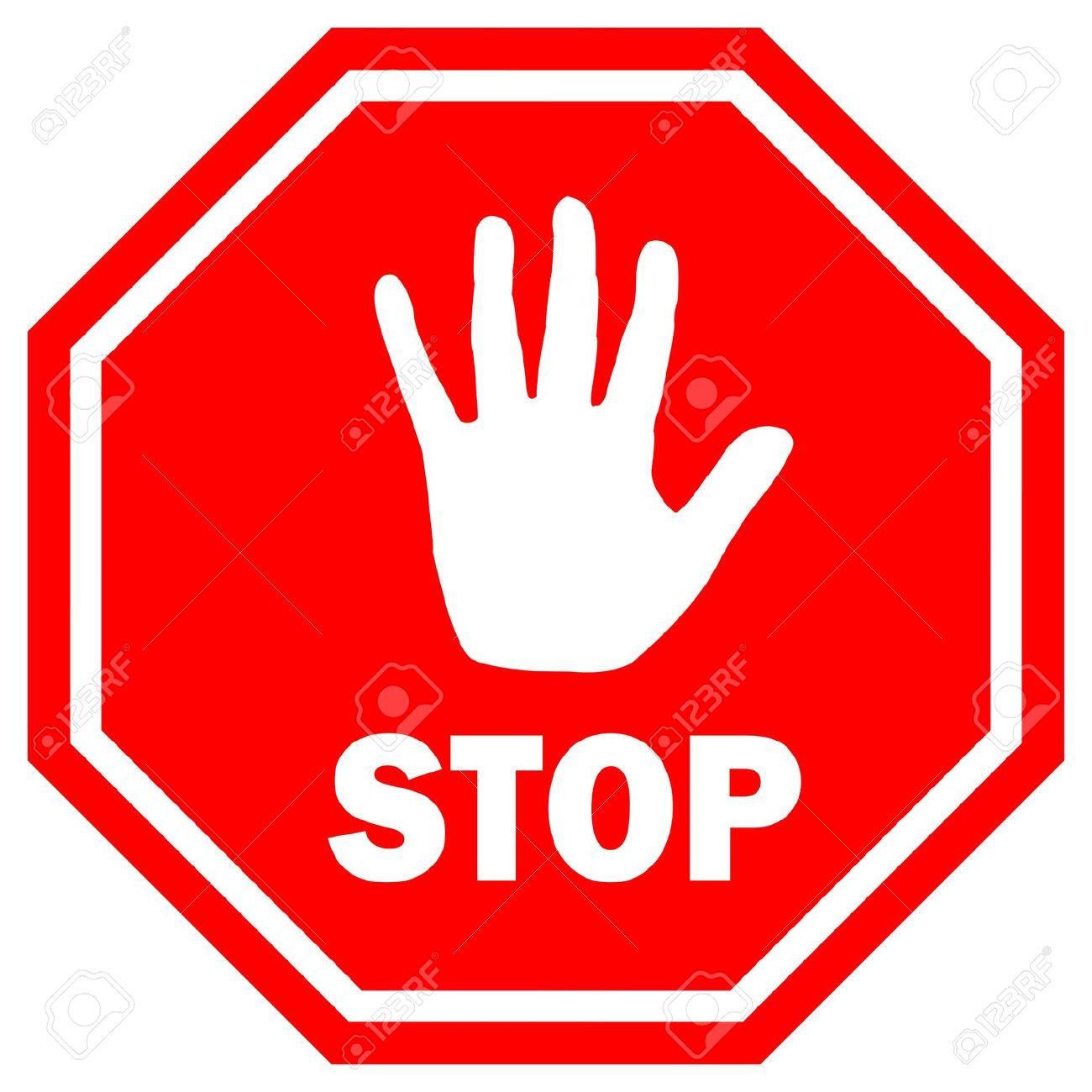Stop signs clip art tumundografico