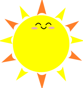 Sun clipart free images 4
