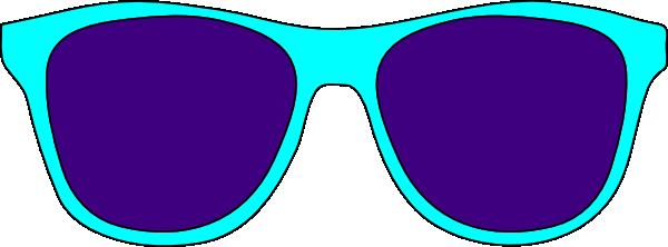 Sun glasses clip art 3