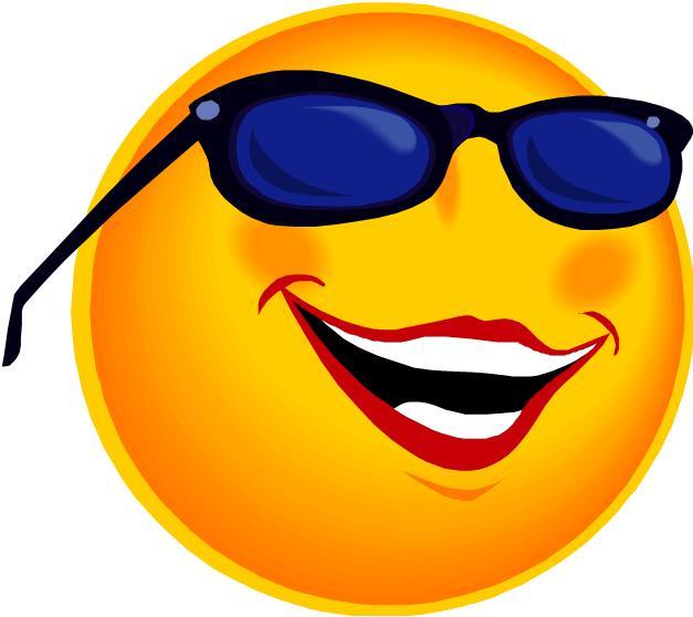 Sun with sunglasses 10