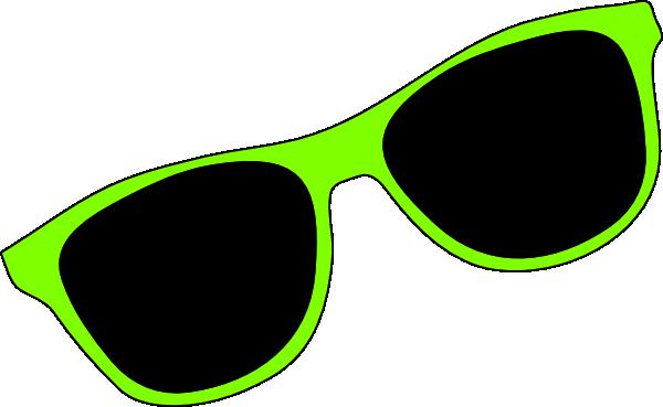 Sun with sunglasses clipart 7