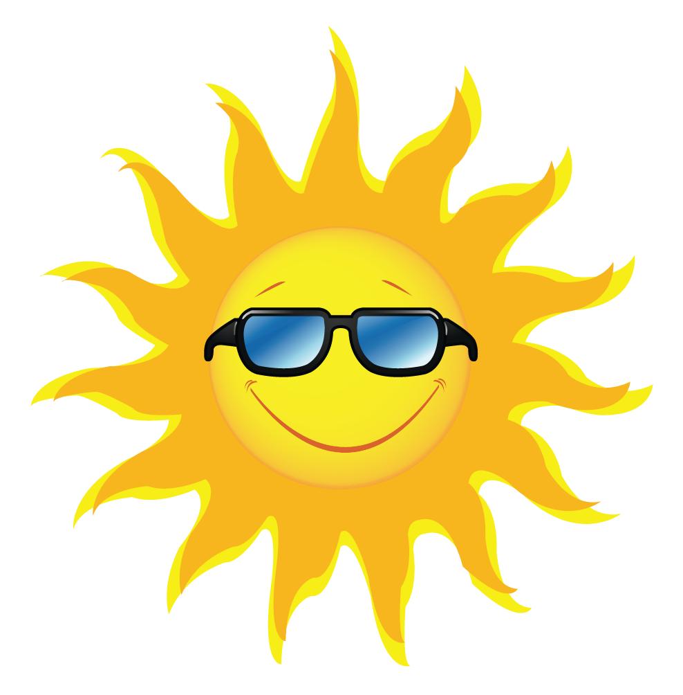 Sun with sunglasses clipart clip art clipartfox 2