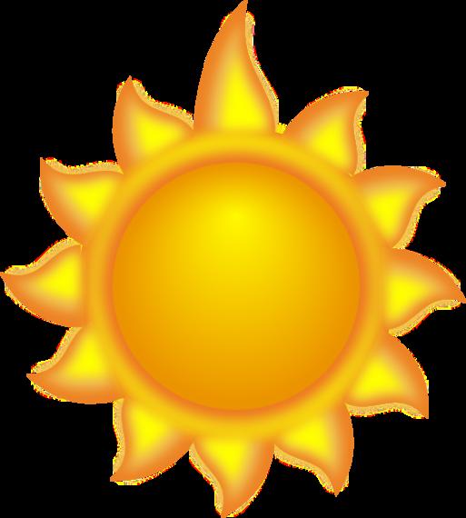 Sun with sunglasses clipart transparent panda free