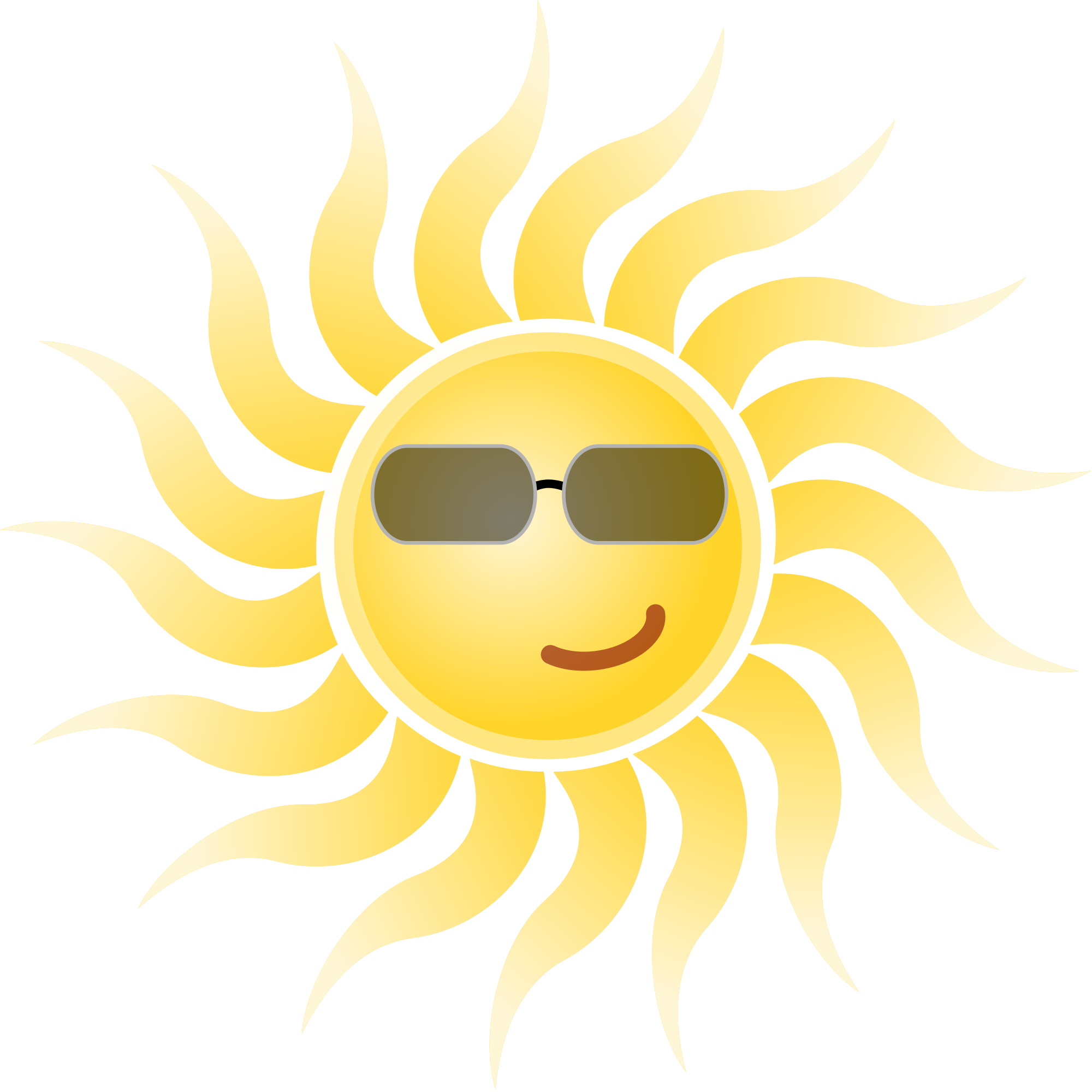 Sun with sunglasses file sun wearing sunglasses svg mediamons