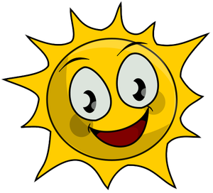 Sunshine free sun clip art 3