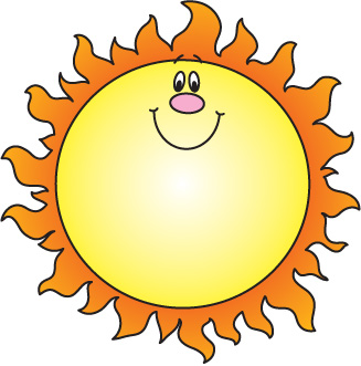 Sunshine free sun clipart clip art images and 4