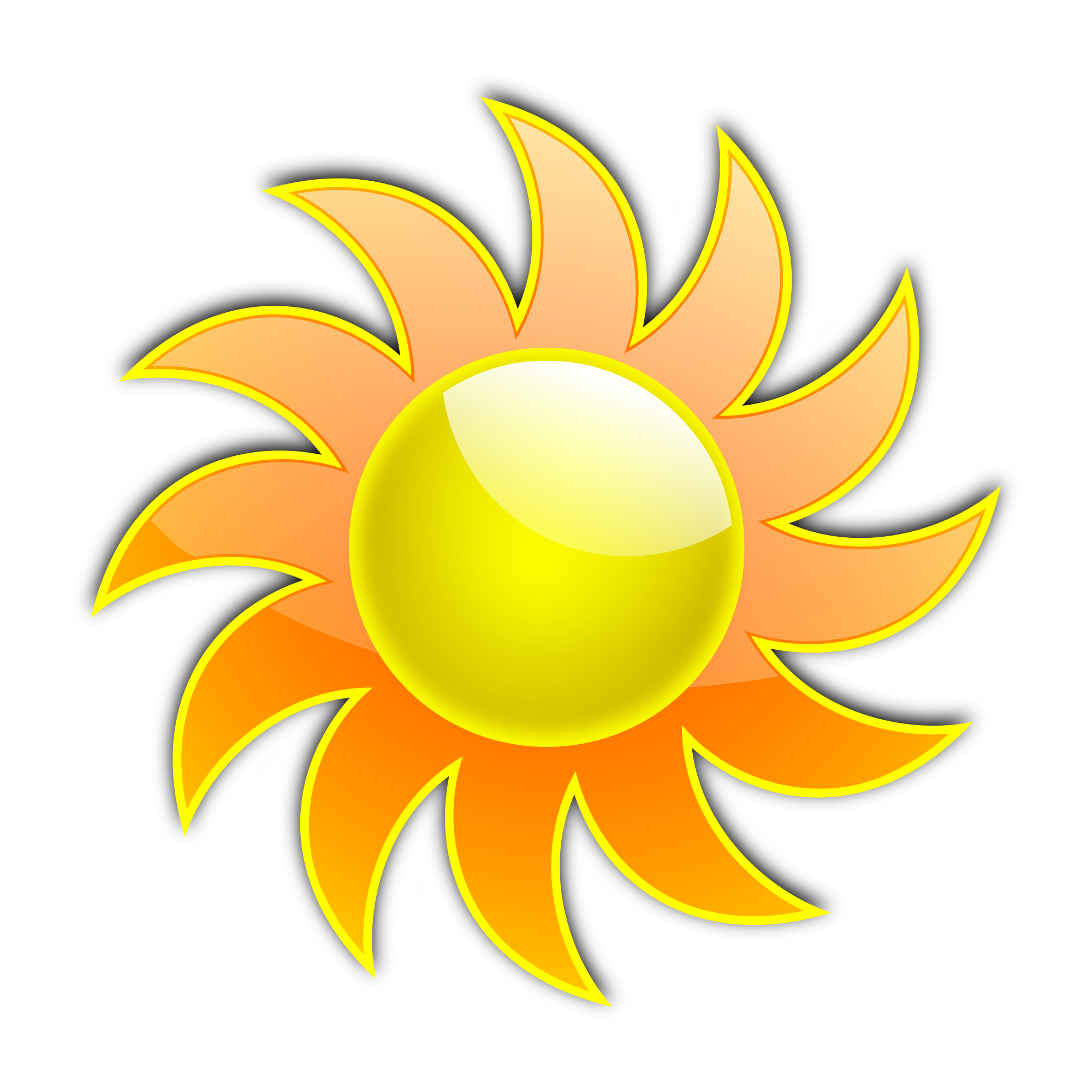 Sunshine free sun clipart clip art images and