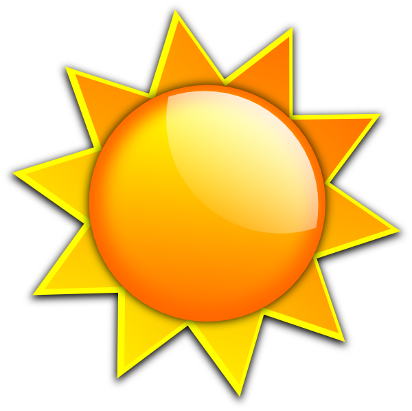 Sunshine sun clipart free images 2